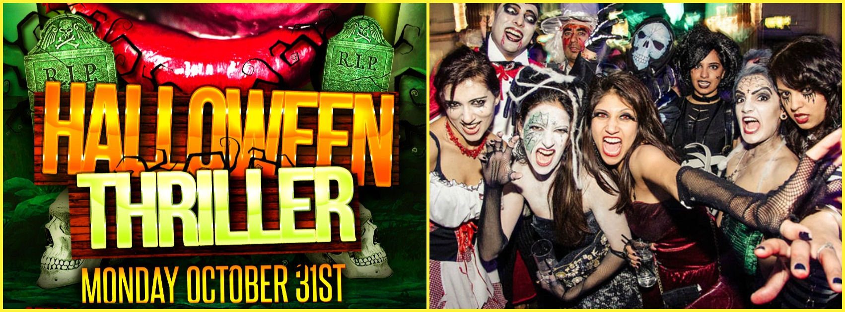 HALLOWEEN THRILLER @ FICTION NIGHTCLUB | MONDAY OCT 31ST Tickets ...