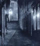 murky London street
