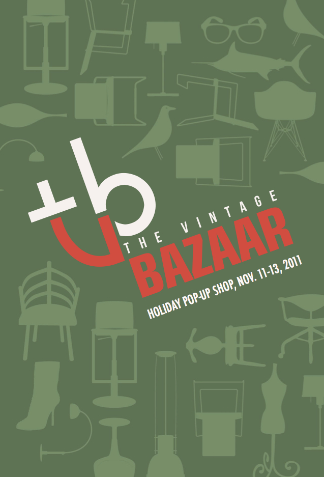 vintage bazaar chicago flea holiday pop-up shop
