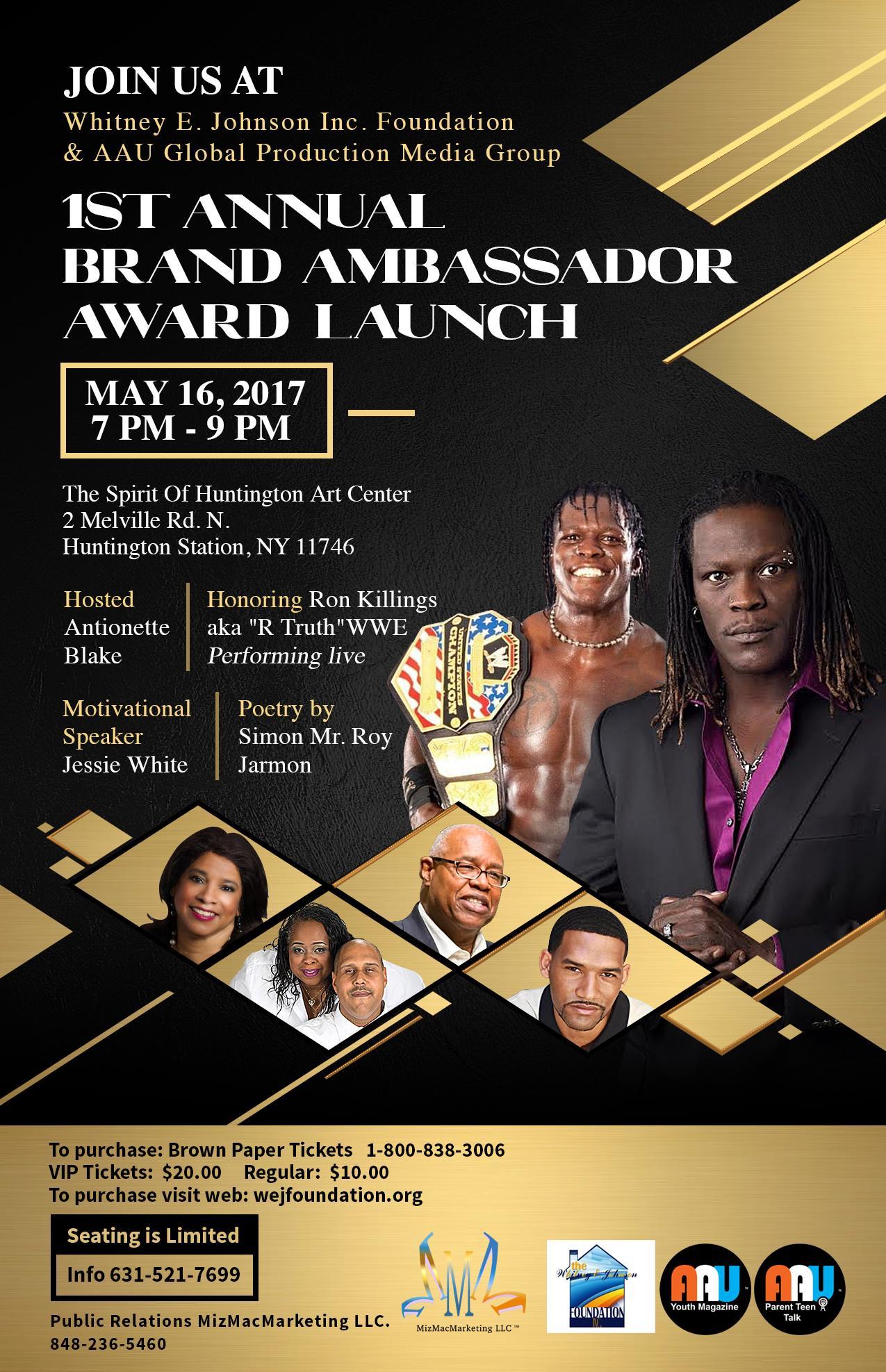 1st Annual Brand Ambassador Award Ceremony