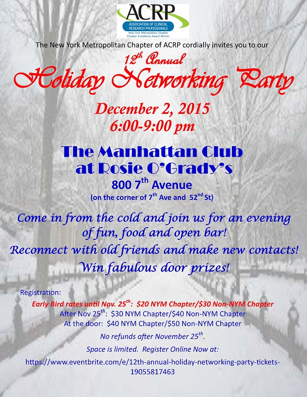 12th Annual Holiday Networking Party