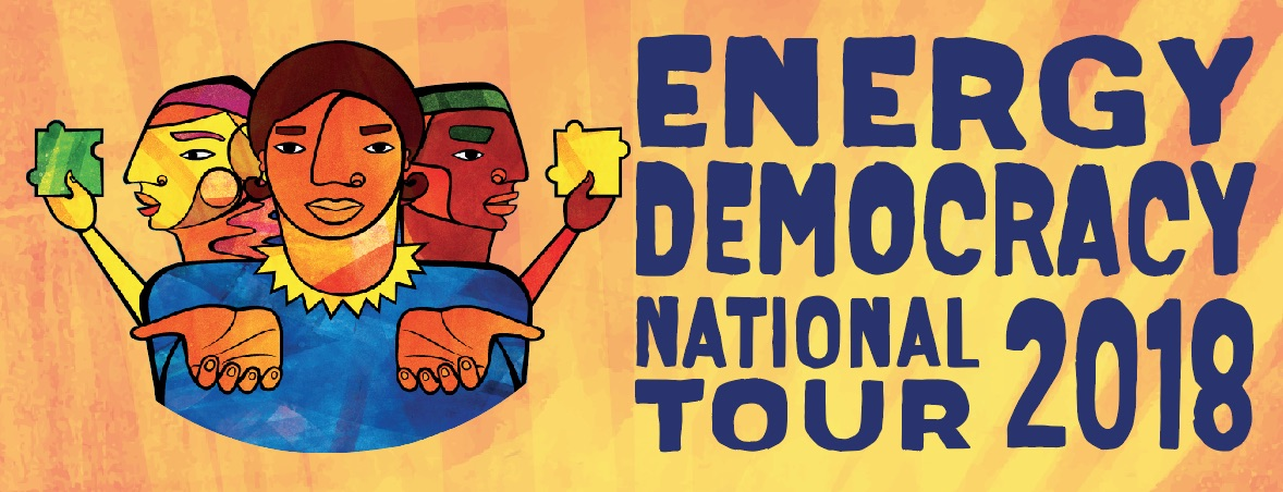 Energy Democracy brings energy access, ownership, and a voice in the decisions that affect us.