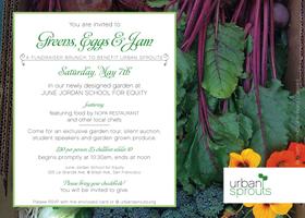 Greens, Eggs & Jam Fundraiser Brunch 2011