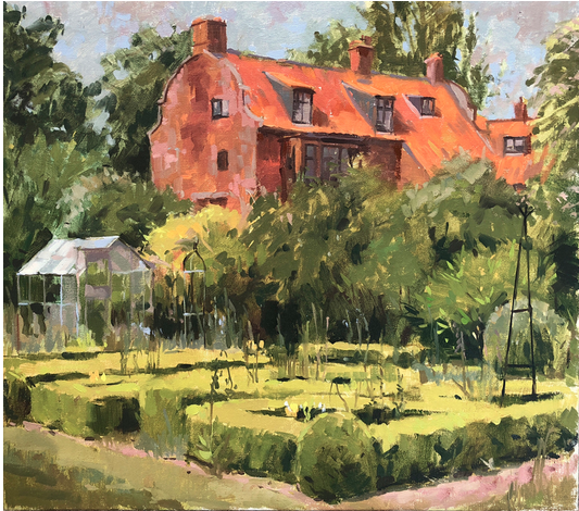 Seago's Dutch House Oil by Haidee Jo Summers