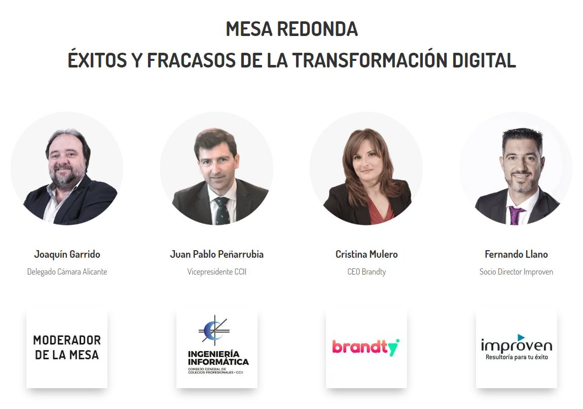 Moderador de mesa: Joaquín Garrido. Ponentes: Juan Pablo Peña, Cristina Mulero, Fernando Llano