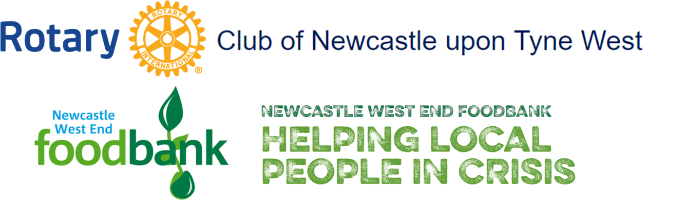 Rotary Club of Newcaslte upon Tyne West & Newcastle West End Food Bank