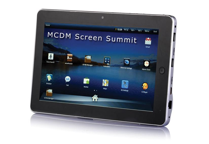 Screen summit