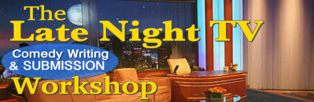 Late Night TV Comedy Writing & Submission Workshop logo