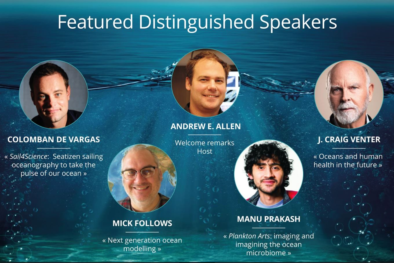 Featured Distinguished Speakers