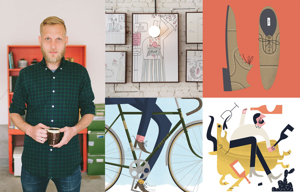 Tom Froese, Illustrator