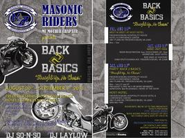 "Masonic Riders MC Mother Chapter Presents ""Back 2 Basics:..."