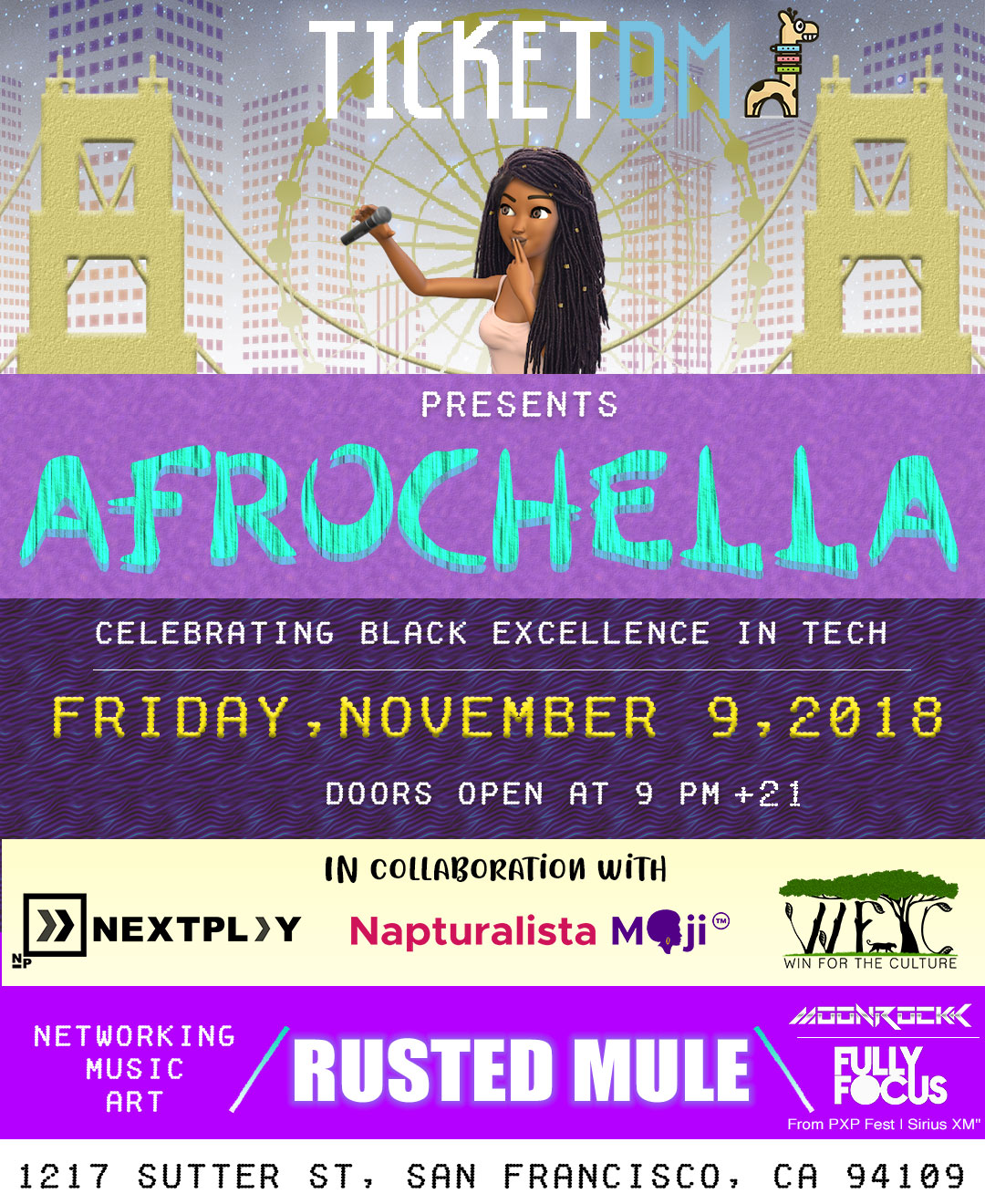 TicketDM Afrochella