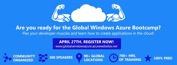 Global Windows Azure Boot Camp