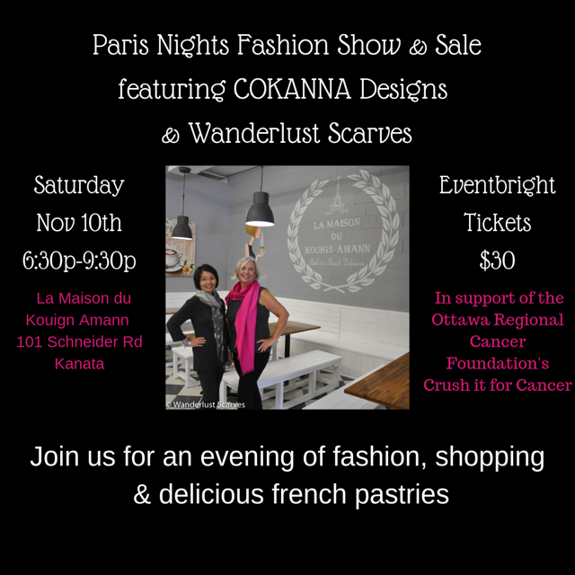 Paris Nights Fashion Show & Sales