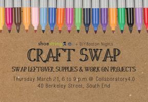 shoestring craft swap