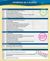 Wake Tech Workforce Open House Event Agenda
