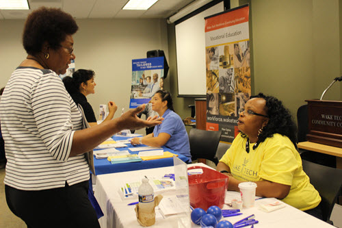 Talk with Wake Tech staff face-to-face about our Workforce Continuing Education certifications and training programs.