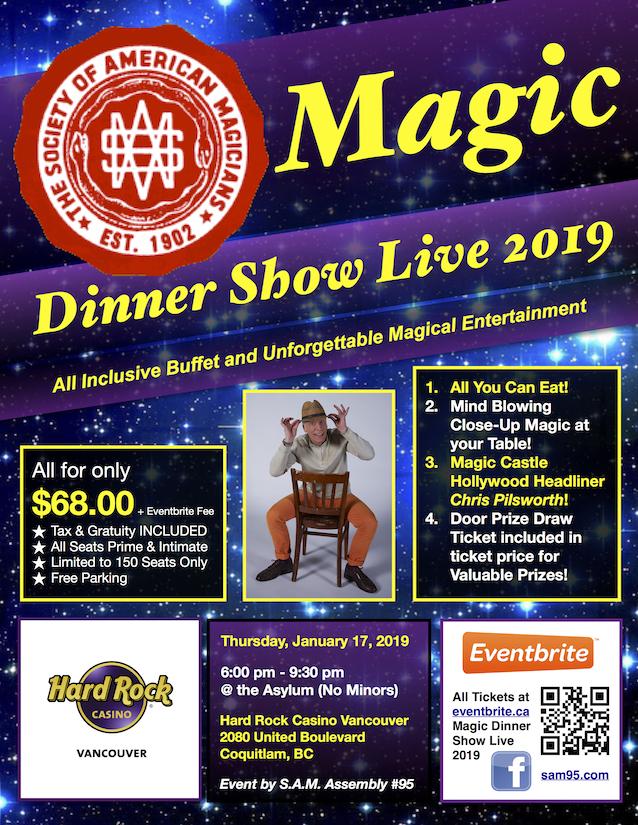 Magic Dinner Show Live 2019