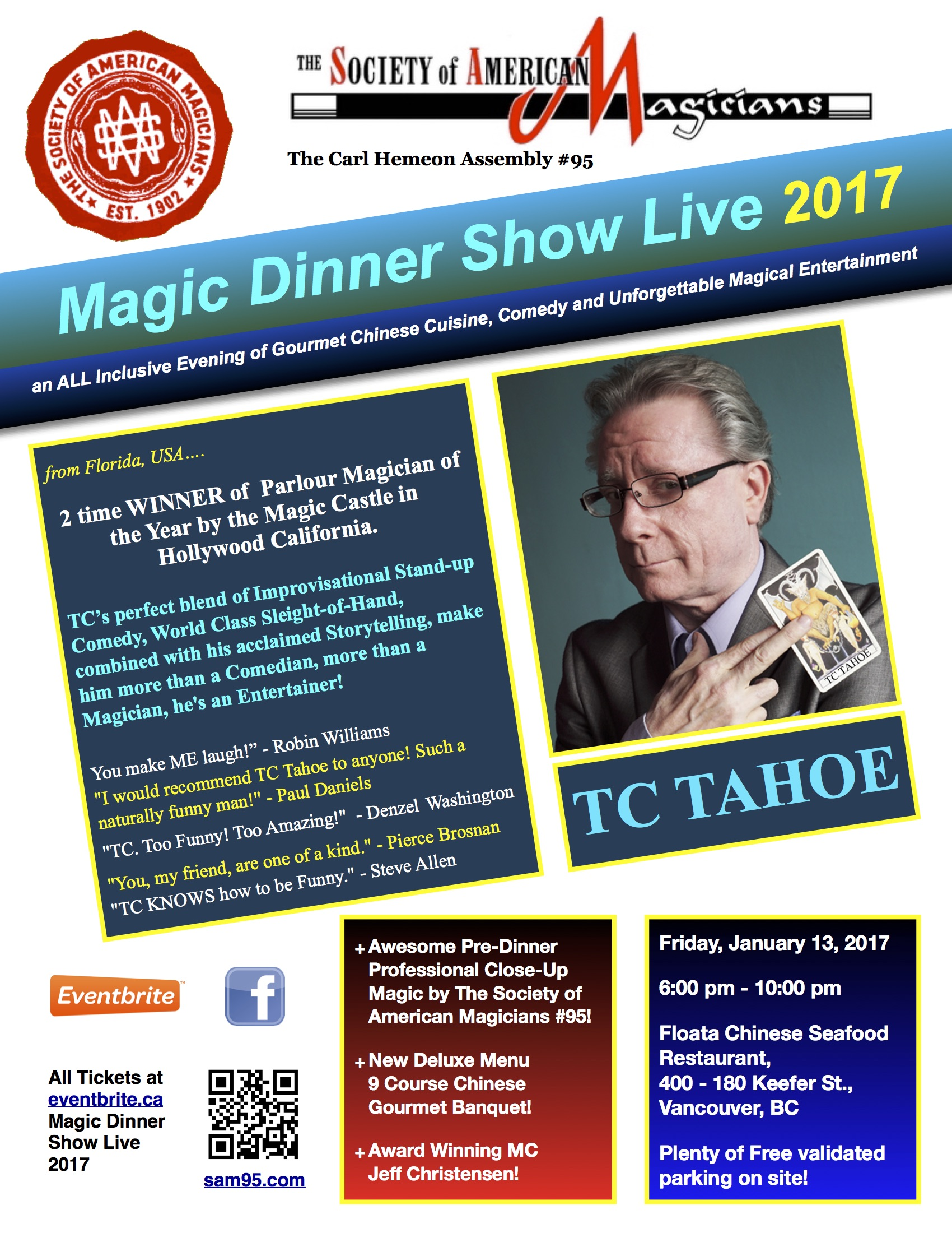 Magic Dinner Show Live 2016