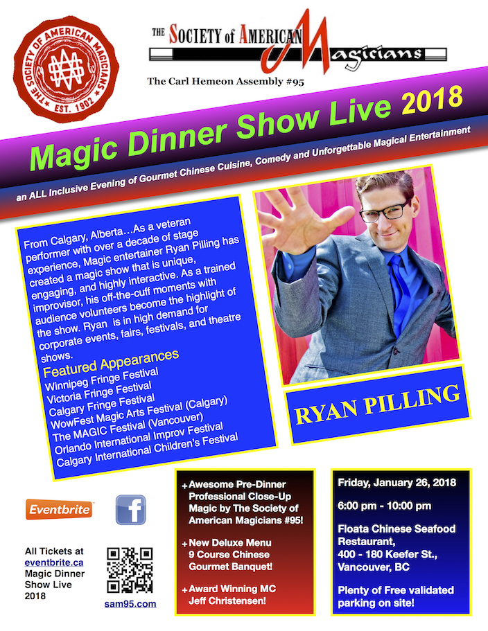 Magic Dinner Show Live 2018
