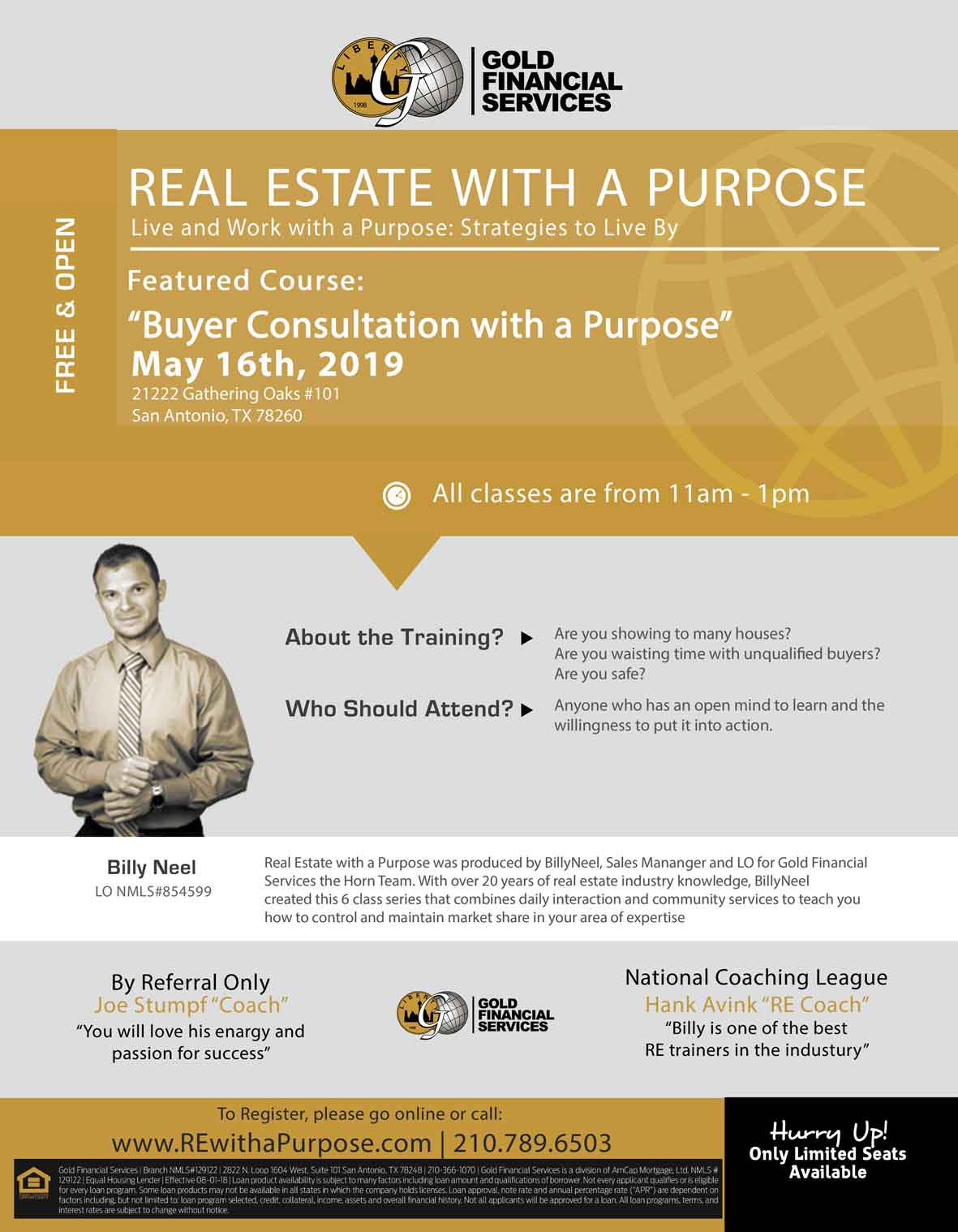 Real Estate with a Purpose BillyNeel