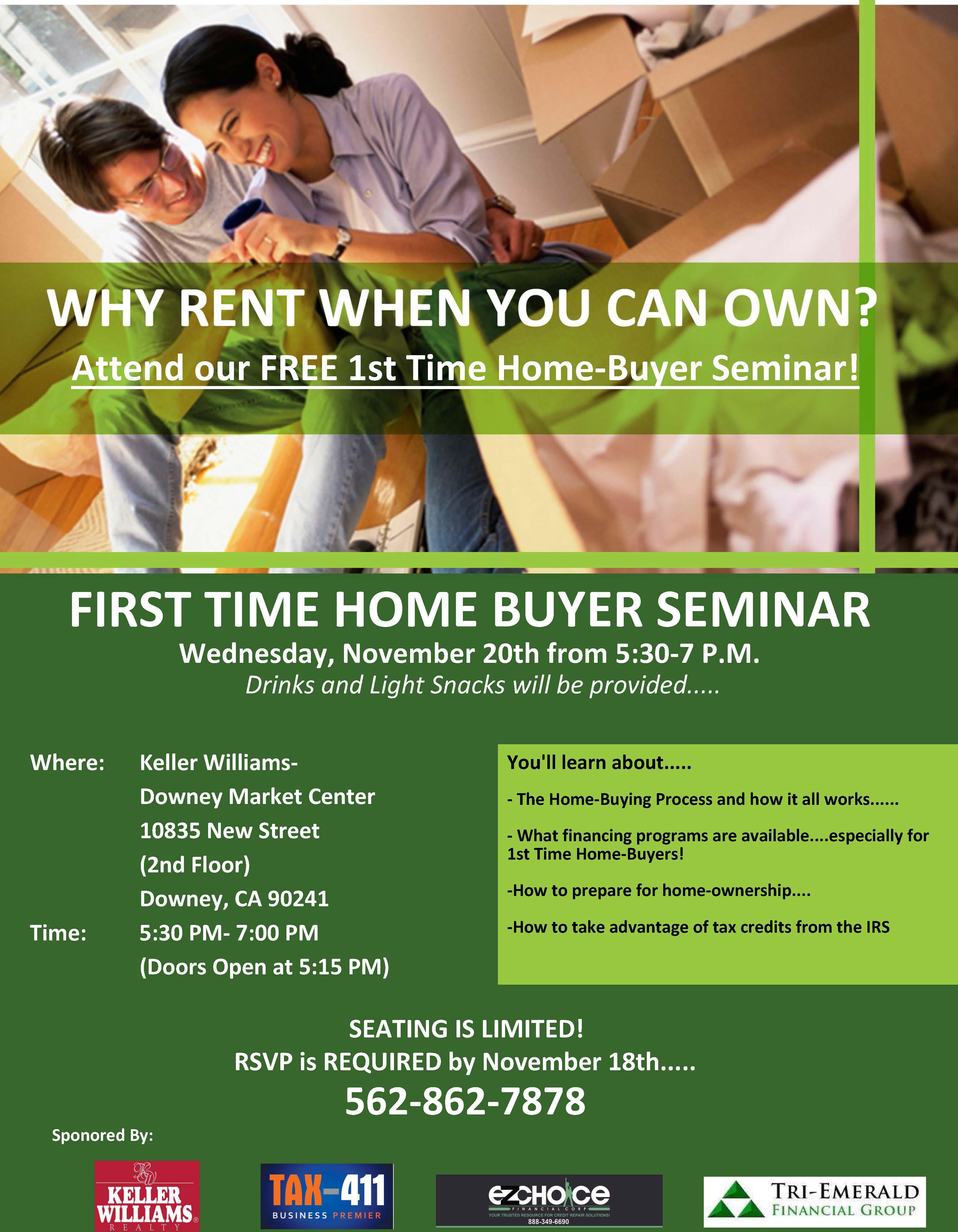 first time home buyer workshop in downey ca nov 20 2013 5 30 pm eventful. Black Bedroom Furniture Sets. Home Design Ideas