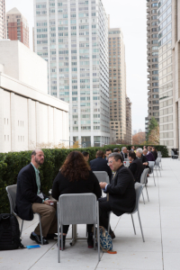 JLens 2017 Summit - Participants at Tables