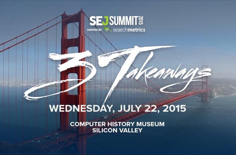 SEJ Summit Silicon Valley