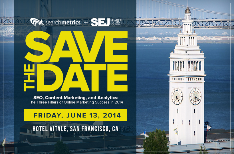 searchmetrics presents a content marketing seminar hosted by search engine journal