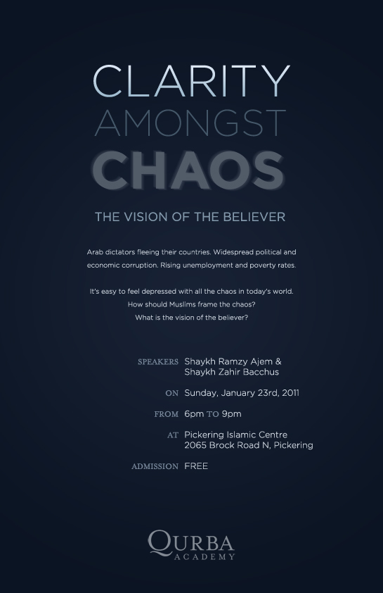 Clarity Amongst Chaos: The Vision of the Believer