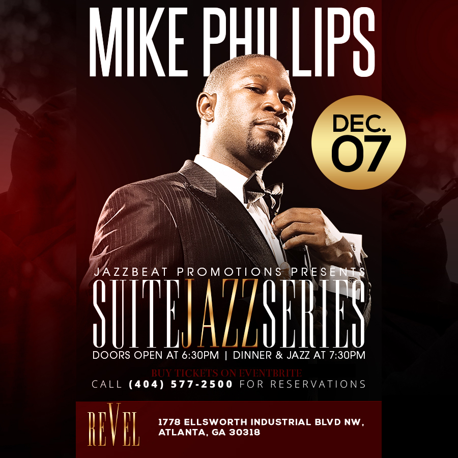 Mike Phillips live at Revel