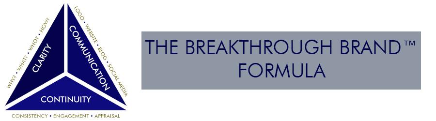 The Breakthrough Brand™ Formula