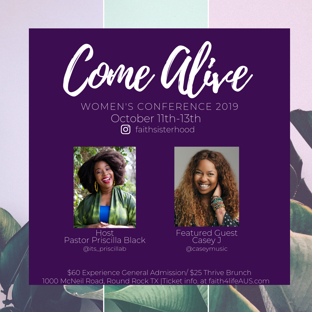 Come Alive! Women's Conference - It's time to Come Alive!