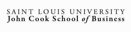 Saint Louis University John Cook School of Business