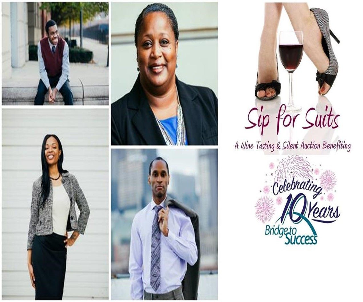 Faces of Sip For Suits