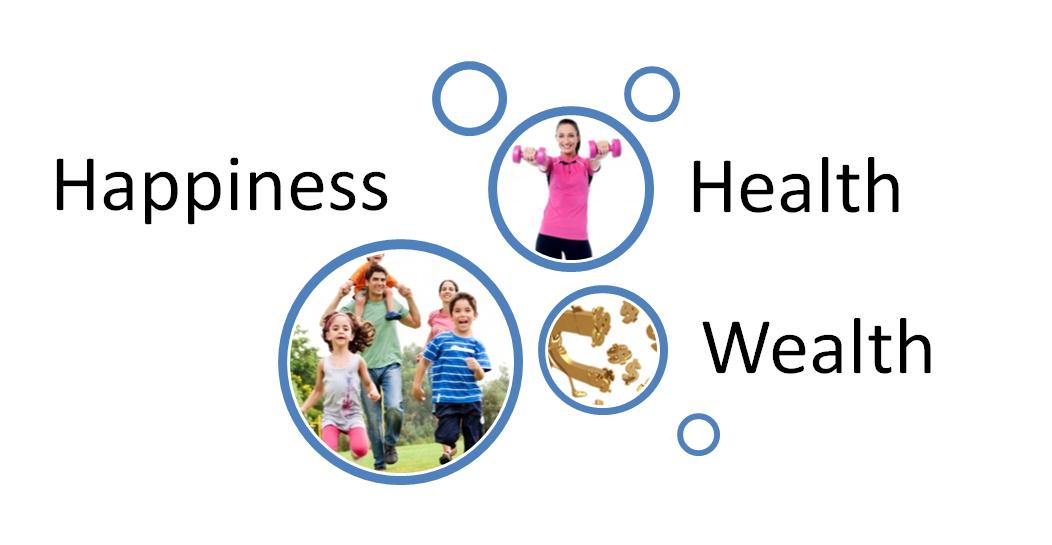 Health, Wealth and Happiness Seminar Invitation.