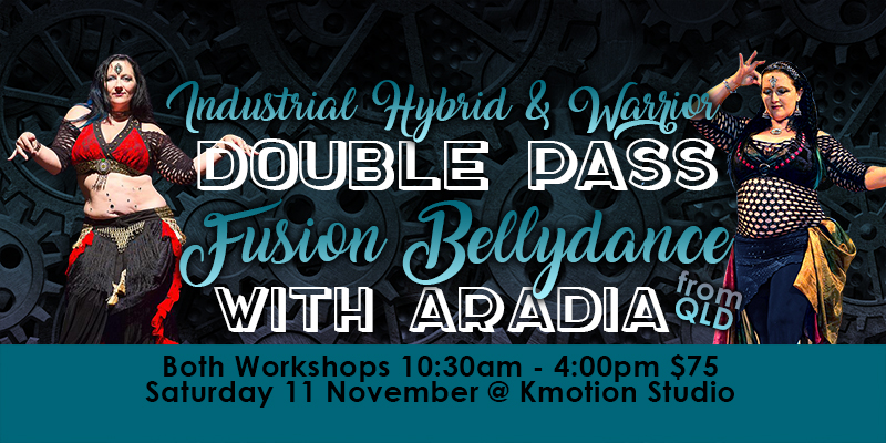 Industrial Hybrid and Warroir - Fusion Bellydance with Aradia - Canberra #JazidaProductions