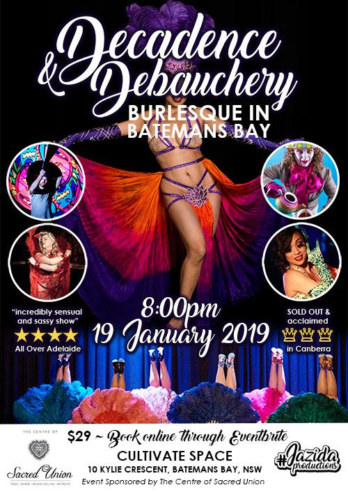 JazidaProductions Decadence and Debauchery Batemans Bay January 2019