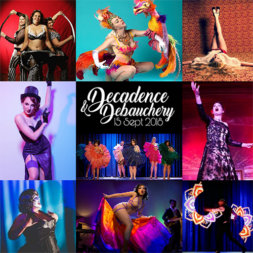 jazida productions decadence debauchery canberra burlesque
