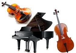 piano cello violin picture