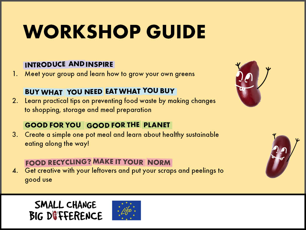Workshops schedule