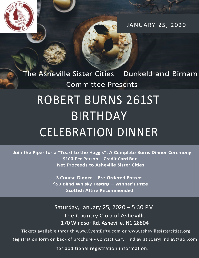 Robert Burns 261 Flyer
