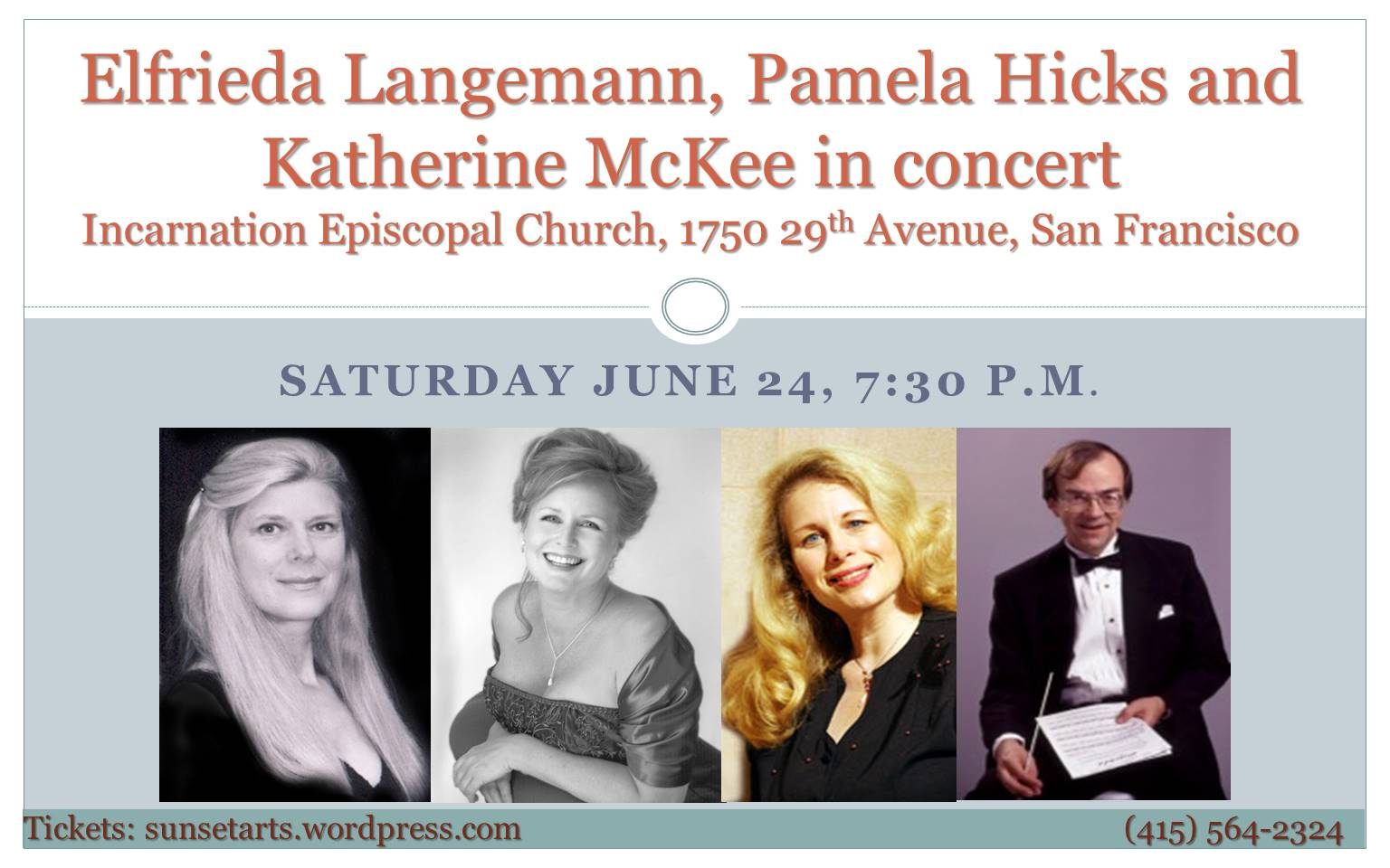 June 24 concert