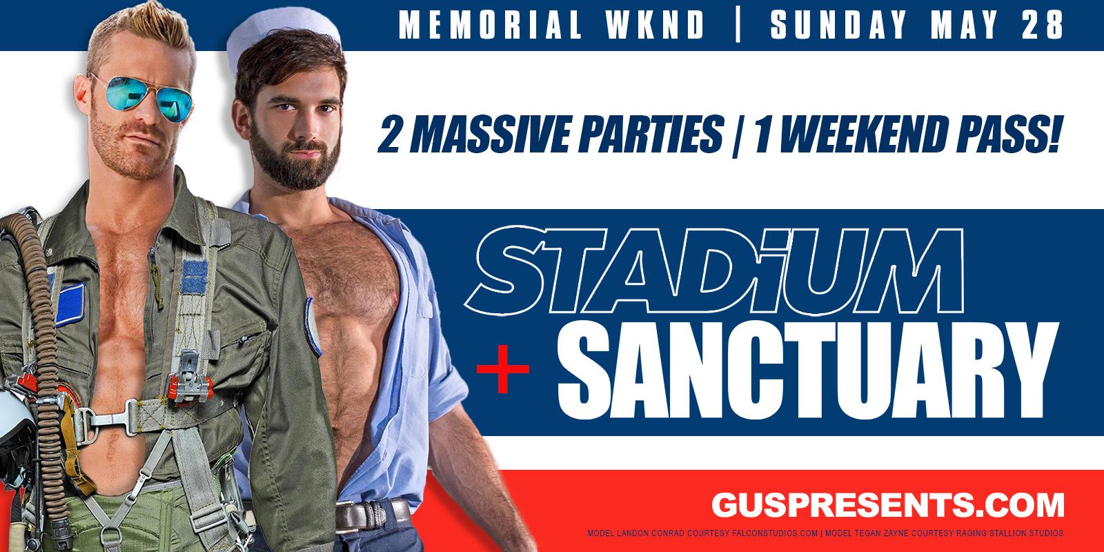 STADiUM + SANCTUARY | 2 PARTY PASS