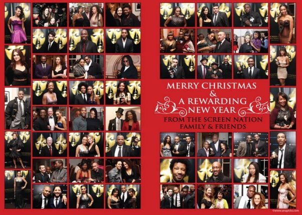 Screen Nation xmas party images