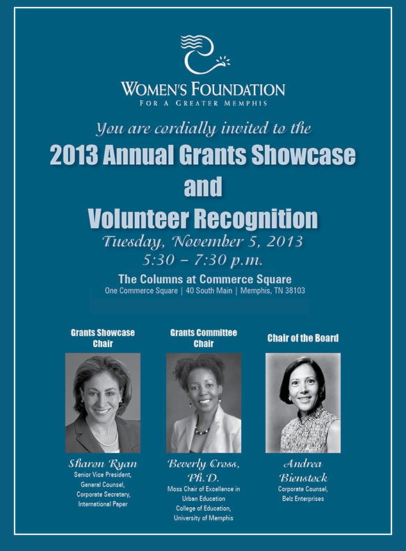 Grants Showcase Invitation