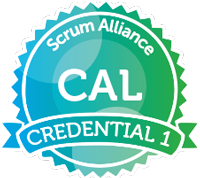 Scrum Alliance Certified Agile Leadership seal