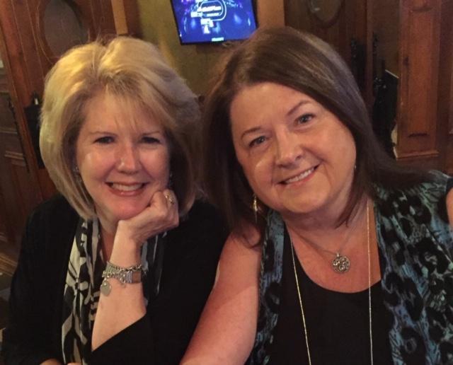 Donna (left) and Elaine