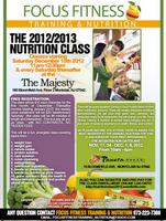 FOCUS FITNESS TRAINING & NUTRITION PRESENTS THE 2013 HEALTH &...