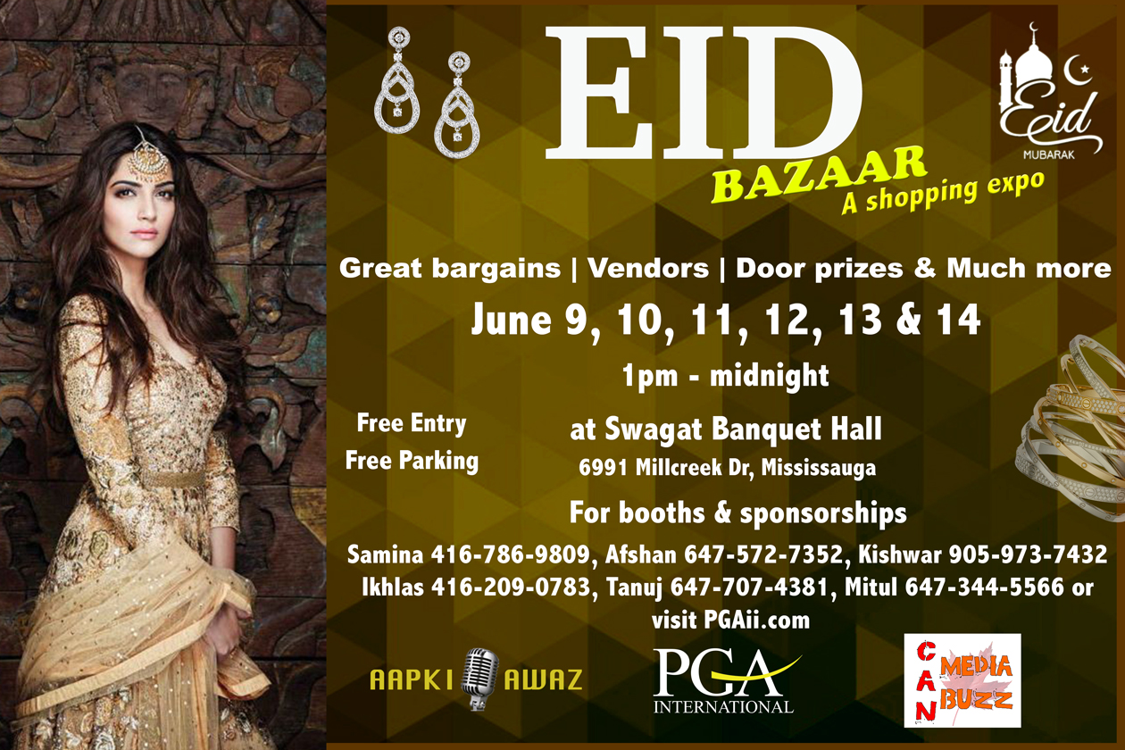 Eid Bazaar June 2018 in Mississauga